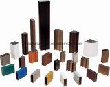 Quadrat, rundes, unterschiedliches Aluminiumlegierung-Strangpresßling-Profil für Tür und Fenster-Gefäß 34