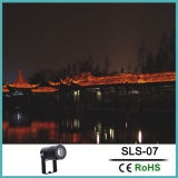 La decoración del paisaje de la luz de foco LED y luz de foco al aire libre