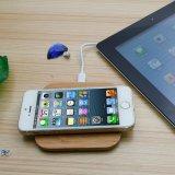 Cargador sin hilos de carga portable de la pista del soporte de Qi para el iPhone X