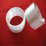 Tuyauterie opaque de quartz de tube de quartz d'helice pour la chaufferette