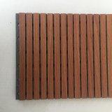 Panneau acoustique de bois rainuré en Corée