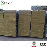 Farbe StahlRockwool Sandwichwand-Panel für Stahlkonstruktion