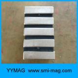 Неодимий постоянных магнитов блока спеченный формой