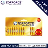 bateria seca de China da manufatura 1.5volt Non-Rechargeable com ISO 12pack aprovado Ce/ISO Lr6/Am-3
