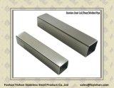 Нержавеющая сталь ASTM A554 304 сварила квадратную трубу с отделкой 240hl
