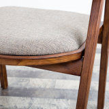 직물 Seater (C720-13)를 가진 목제 프레임 의자