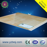 Flache reine Weiß Belüftung-Decke verschalt Breite der Decken-Fliese-300mm