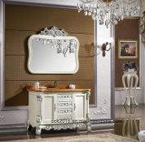 Стародедовский шкаф ванны типа сделанный из твердой древесины
