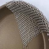 Impianto di lavaggio di Chainmail del padellame dell'acciaio inossidabile