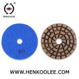 ダイヤモンドの具体的なぬれたのための大理石のクリーニングの床のパッドは使用を乾燥する