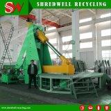 Shredwell 광산 타이어 절단기 직업적인 큰 크기 타이어 절단기