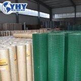 Enduit de PVC clôture en treillis métallique soudé