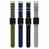 Riem van de Band van het Horloge van de NAVO de Nylon Geweven voor Band Iwatch