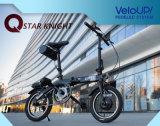 Vélo se pliant de la vente 24V de batterie de bicyclette de bâti fait sur commande chaud d'alliage