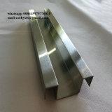 柵のガラスプロフィールの金属のステンレス鋼