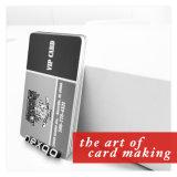 PVC 오바레이를 가진 플라스틱 선물 카드를 인쇄하는 위원회 Laser 떨어져 최신 판매 찰상