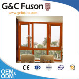 Guichet en aluminium de regard en bois de tissu pour rideaux de l'Australie