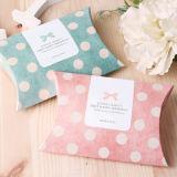 작은 선물 상자 상한 보석 포장 접히는 종이상자