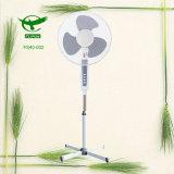 Белый сильный ветер охлаждая электрический стоящий вентилятор 16inch