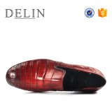 通気性の革靴の人の高品質のスリップ