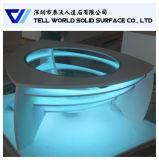Arte di superficie solida acrilica che illumina il tavolino da salotto di 1000mm da vendere
