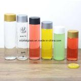 Glasflasche des Wasser-400ml mit Plastiküberwurfmutter