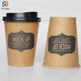 4oz 7oz 8oz 12oz 16oz 20oz Kraft desechables vasos de papel café