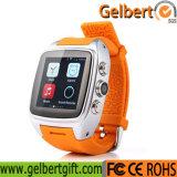 Gelbert X01 3G WiFi GPS WCDMA androides intelligentes Uhr-Telefon