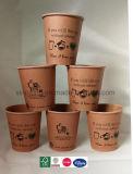 Экологичный 7oz мире биоразлагаемую бутылку для чашки кофе PLA бумаги для оптовых наружного кольца подшипника