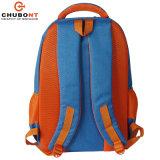 Chubontのコンピュータのバックパック青いカラー学校のバックパック袋