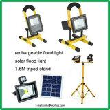 Holofote LED solares/5W/Painel Solar/Interruptor do Sensor de Infravermelhos/Branco