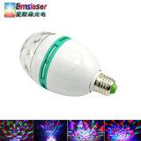 RGB LED 3W la magia de luz LED Bola de cristal Color giratorios bombilla LED LUZ