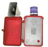 Telefono industriale impermeabile della lega di alluminio del telefono Knsp-15