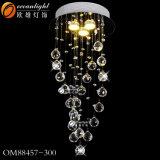 La luz de la decoración de cristal, el ruso Hotel moderna iluminación, Luz Hotel Om04