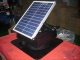 20W Base carrée Leafproof ventilateur de toit solaire avec panneau solaire réglable