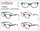 De volledige Oogglazen Eyewear van de Glazen van het Frame van de Acetaat van de Rand Kleurrijke Optische