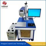 30W de plastic Laser die van de Fles Machine voor De Serienummers van de Streepjescode merken