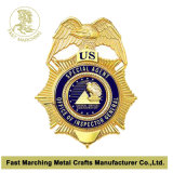 カスタムクラブID車の折りえりPinの紋章の金属の警察は記章を付ける
