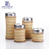 Стеклянные бутылки для хранения с крышкой ежедневно посудой (TZ4 ГБ2125AC)