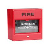 Punto manuale di chiamata collegato per il sistema di segnalatore d'incendio di incendio convenzionale