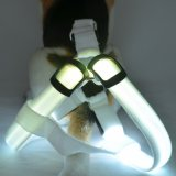 El LED parpadea la luz LED Chaleco arnés de la correa del cinturón de cuerda arnés Collar