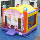 Novo Design Girl Princess Jumping Bouncer Mooncake castelo insuflável