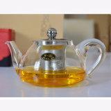Résistantes à la chaleur en verre Pyrex pot avec couvercle en verre de thé Stariner théière avec filtre en verre de thé Heatproof crépine