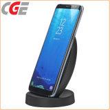 充電器Samsungは冷却ファンの携帯電話の充電器電池を持つ8速い無線充電器に注意する