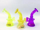 Hbking 도매 신식 다채로운 유리제 연기가 나는 관