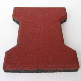 Плитка резины типа блокировки и квадрата и косточки собаки