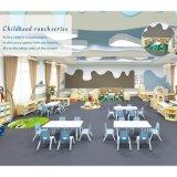 Salle de classe de maternelle Les enfants de table et chaise en plastique de garderie Kids mobilier scolaire Ensembles de gros