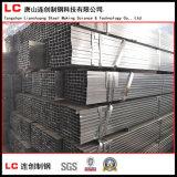 Tubo de acero del tubo cuadrado/tubo rectangulares galvanizados sumergidos calientes del soldado enrollado en el ejército
