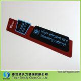 El panel de cristal de 5 mm de seguridad templado decorativo para el aparato electrodoméstico