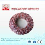 Fil électrique à un noyau de vente chaud de conducteur d'en cuivre d'isolation de PVC